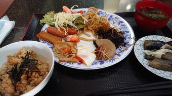 ホテルベストプライス高知:朝食