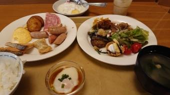 ルートイン札幌中央:朝食
