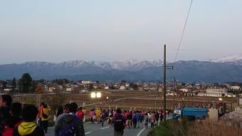 モノノフと立山連峰