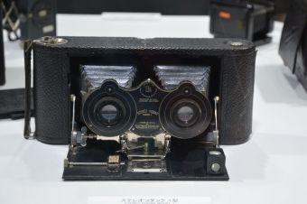 日本カメラ博物館のブース