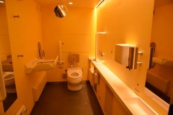 1号車のトイレ