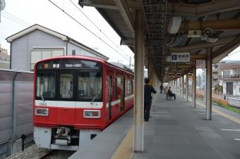 小島新田駅:ホーム