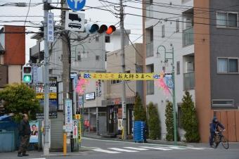 川崎大師の横断幕
