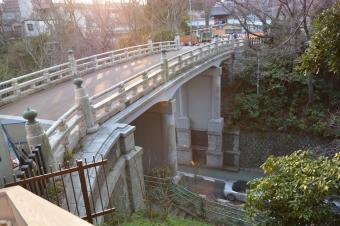 大手橋の二の丸側から