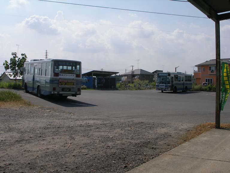 茨城空港 (3) 空港からバスで小...